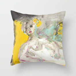 My Olympia   Throw Pillow