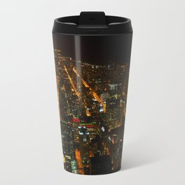 Looking Down on Downtown #1 (Chicago Architecture Collection) Travel Mug