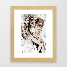 Archaic Angels Framed Art Print
