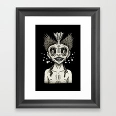 Portrait of a Fiji Merman Framed Art Print
