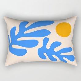 Henri Matisse - Leaves - Blue Rectangular Pillow