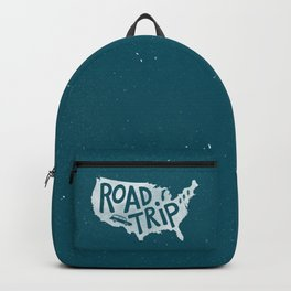 Road Trip USA - reverse Backpack