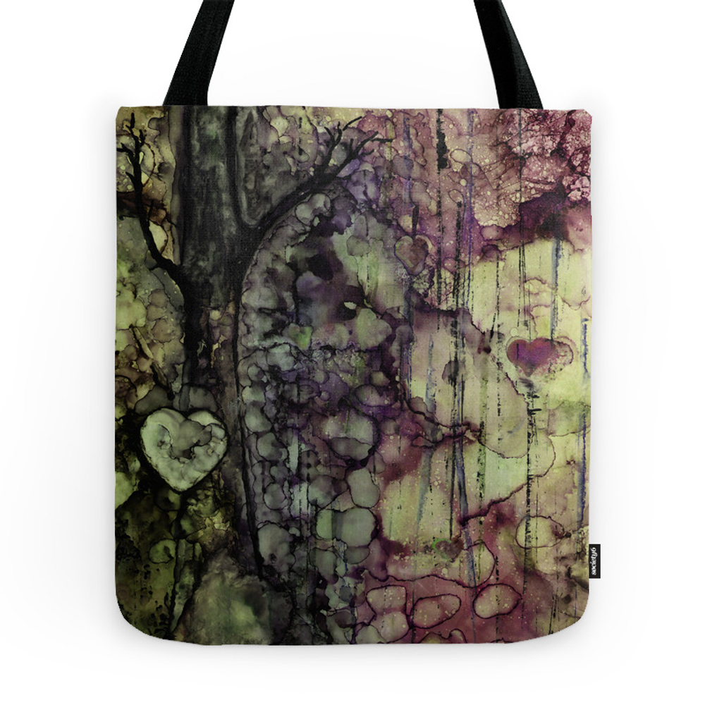 Tears Are Words The Heart Can't Say Tote Purse by christinamvanginkel (TBG7929560) photo