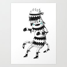 Just floating Art Print