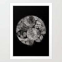 Drawing 2 Art Print