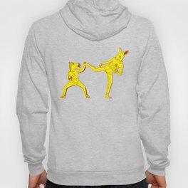 Horse-Dude versus Kick-Bunny Hoody