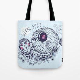 SILENT DISCO Tote Bag