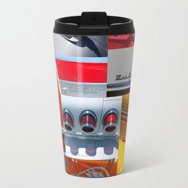Classic Car Collage Travel Mug