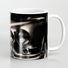 Cold, cool, clean Jaguar automobile black and white photograph / art photography Coffee Mug