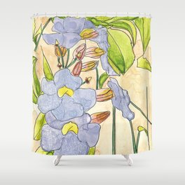 Thunbergia Shower Curtain