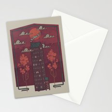 The Towering Bed and Breakfast of Unparalleled Hospitality Stationery Cards