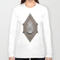 sacred geometry Long Sleeve T-shirts featuring Sacred Geometry  by Coreypopp