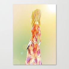 Spring dress Canvas Print