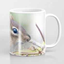 Watercolor Eastern Chipmunk 01, Swallow Falls, Maryland, Picnic Robber Coffee Mug