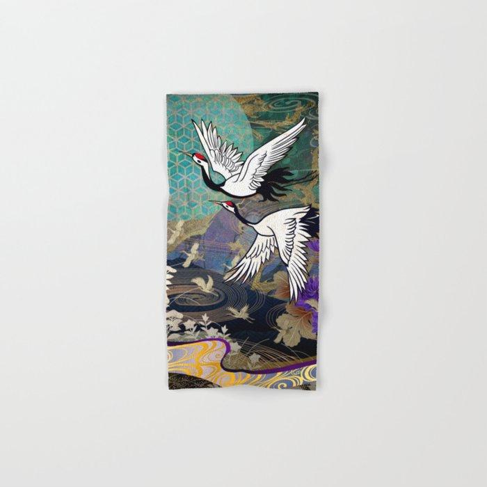 Nature abstract Hand & Bath Towel