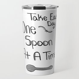 One Spoon At A Time Travel Mug