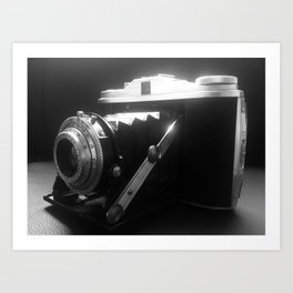 My Old Camera. Art Print