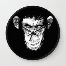 Evil Monkey Wall Clock