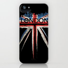 London Pride_Black iPhone Case