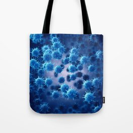 Viral disease Tote Bag