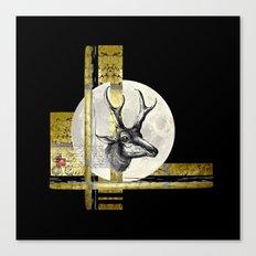 Golden. A. Canvas Print