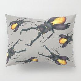 Amber Beetle Pillow Sham