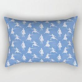 Ladies Fencing Championship Rectangular Pillow