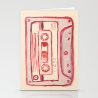 tape Stationery Cards featuring tape by muskawo