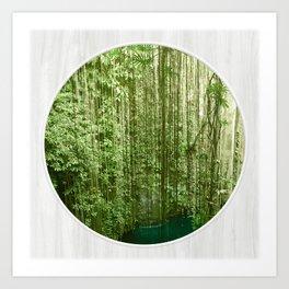 Green Eden Art Print