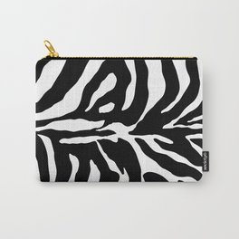 Black and white Zebra Stripes Design Carry-All Pouch