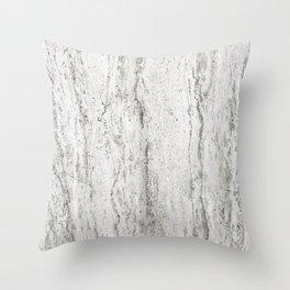 Creamy Waterfall II Throw Pillow