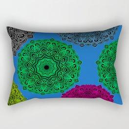 My Angel Spirit Mandhala   Secret Geometry Rectangular Pillow