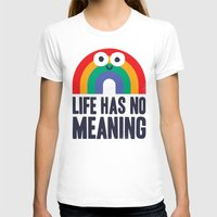 depression T-shirts featuring Chaos Rains by David Olenick