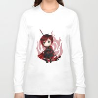 ruby Long Sleeve T-shirts featuring Ruby by Louiology