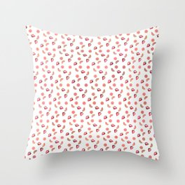 Fruit Slices Pattern Throw Pillow