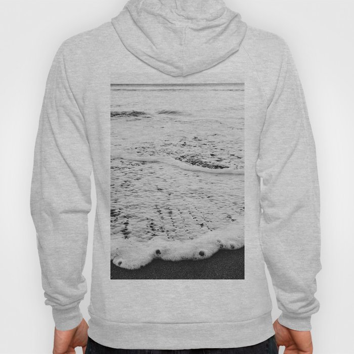 Rushing in - black white Hoody