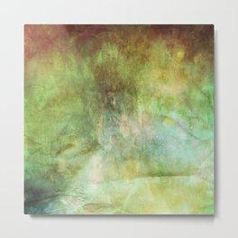 Crumpled Paper Textures Colorful P 999 Metal Print