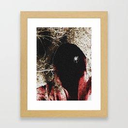 Forest Stranger Framed Art Print