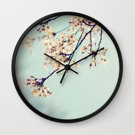 under the blue skies ...  Wall Clock