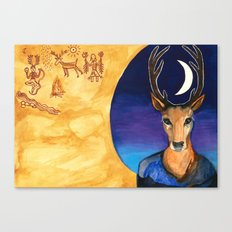 Stag Dreamer Canvas Print