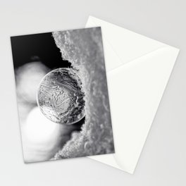 B&W Bubble Fine Art Stationery Cards
