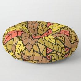 Autumn Memories (a pile of leaves) Floor Pillow