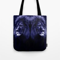 lion Tote Bags featuring Lion. by 2sweet4words Designs