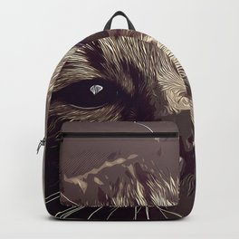 set your cat free vector art natural Backpack