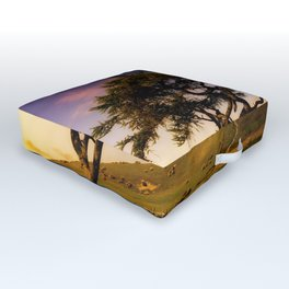 Spring Tree Outdoor Floor Cushion