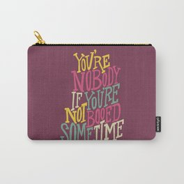 Booed Sometime Carry-All Pouch