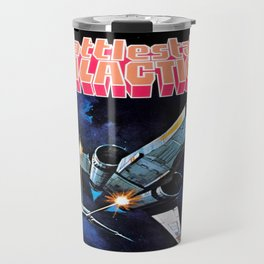 Vintage Battlestar Galactica Travel Mug