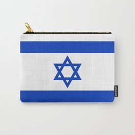 Flag of the State of Israel - High Quality Image Carry-All Pouch