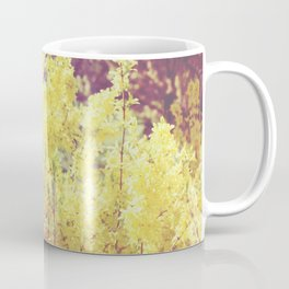 yellow flower - Forsythia Coffee Mug