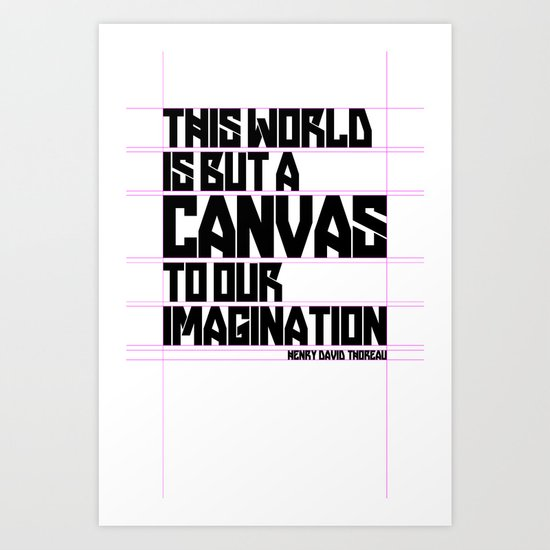 This World... Art Print